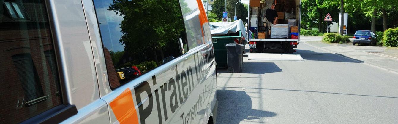 Umzugsunternehmen Düsseldorf - Piraten Umzüge