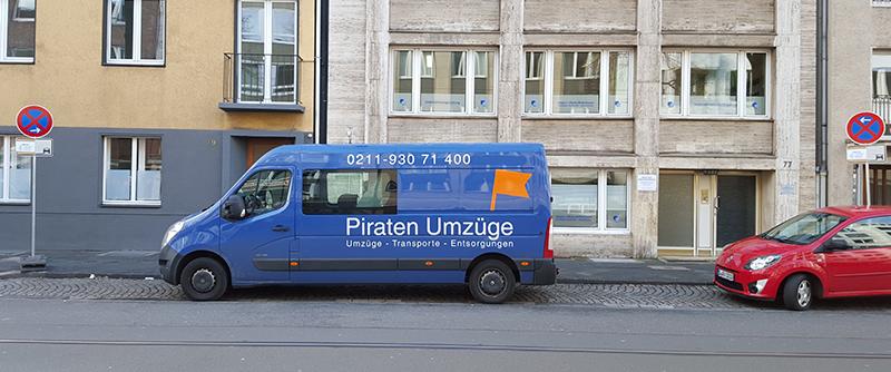 Halteverbotsschilder Düsseldorf